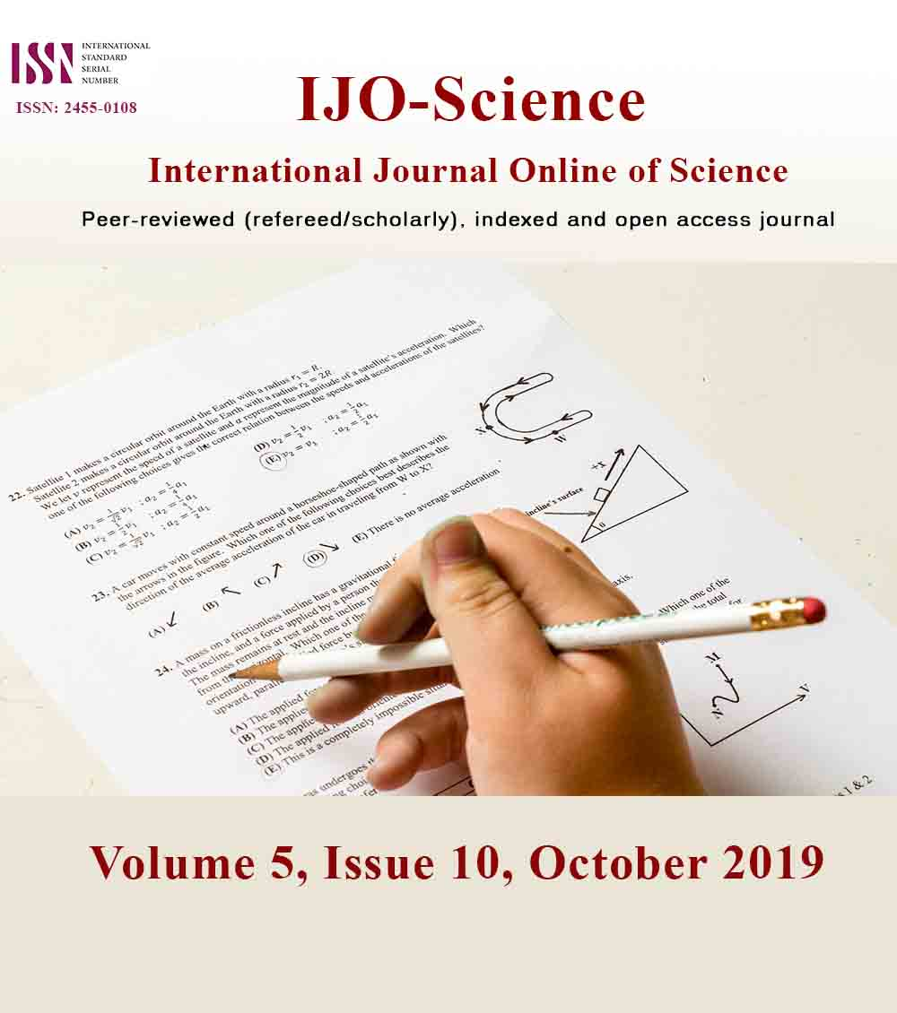 View Vol. 5 No. 10 (2019): Volume 5, Issue 10, October 2019