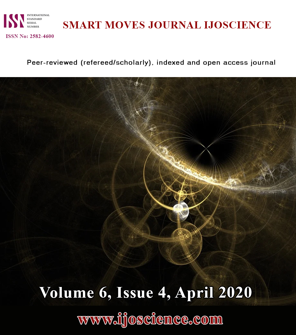 View Vol. 6 No. 4 (2020): Volume 6, Issue 4, April 2020